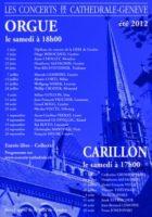 Concert d'ouverture saison 2011-2012