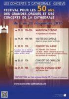 50ème anniversaire des orgues Metzler et des Concerts de la Cathédrale
