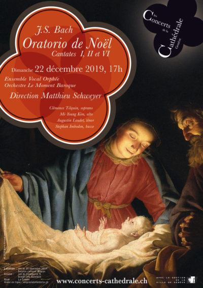 J.S. Bach: Oratorio de Noël<h4>Cantates I, II et VI</h4>