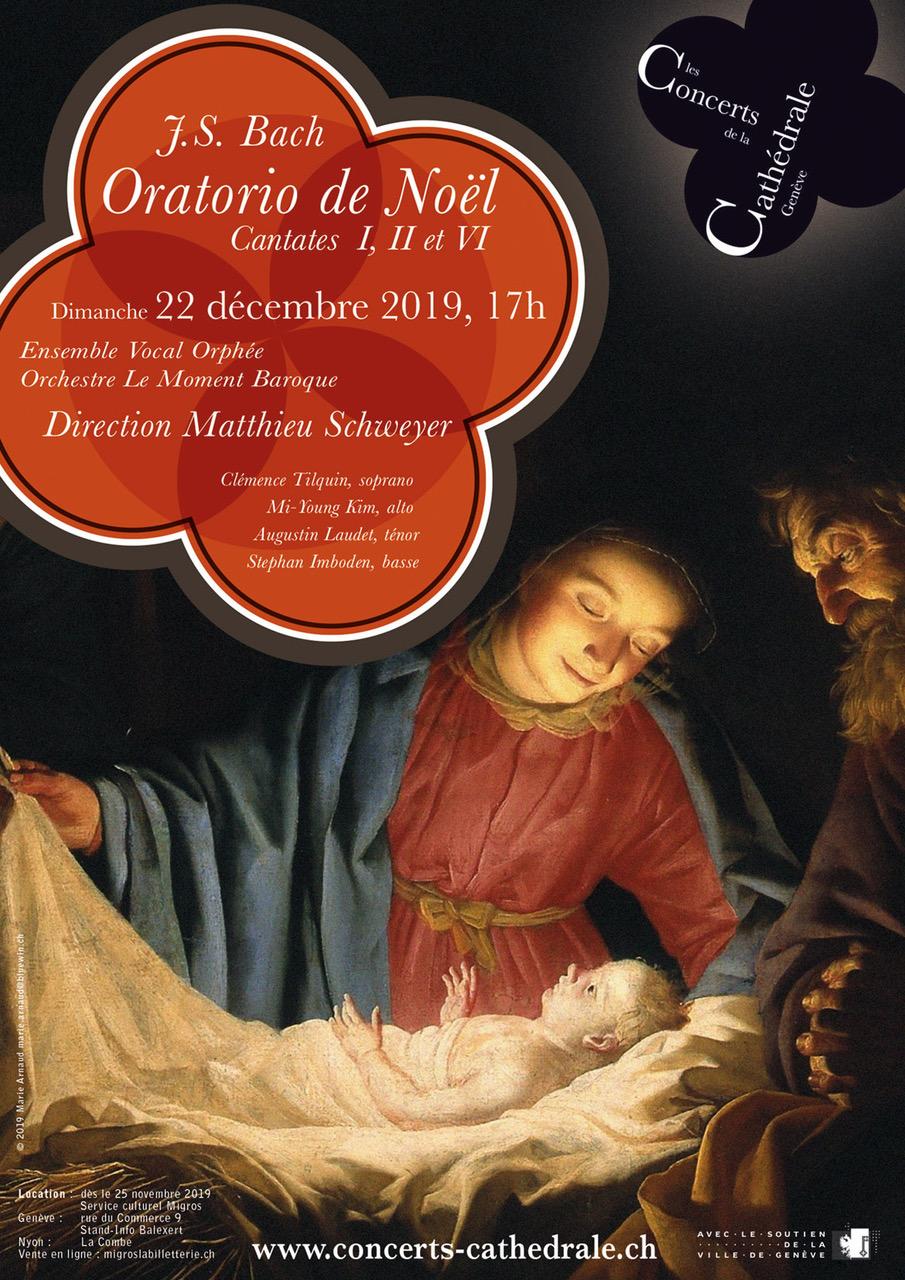 J.S. Bach: Oratorio de NoëlCantates I, II et VI