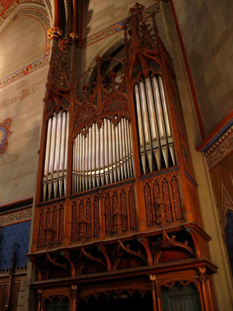 Au revoir à l'orgue Walcker…Récital d'orgue par Arthur Saunierorganiste à Genève